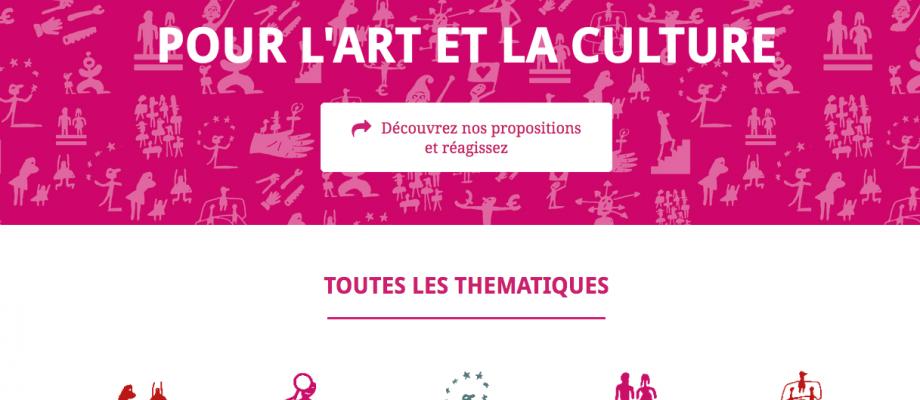 L'art déclare – 70 propositions pour l'art et la culture