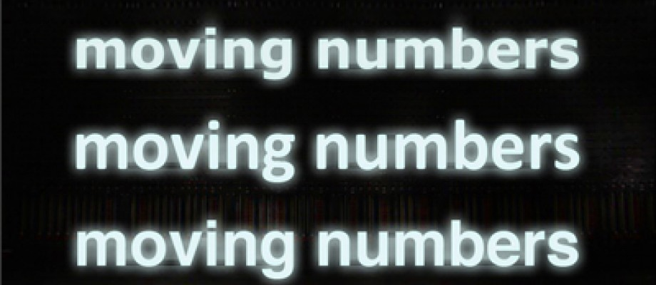 CRÉATION / MOVING NUMBERS - ROBERT SWINSTON