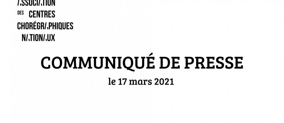 Communiqué de presse du 17 mars 2021