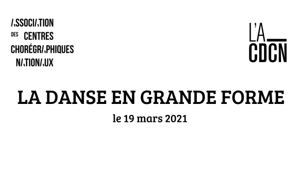 LA DANSE EN GRANDE FORME / 2e édition